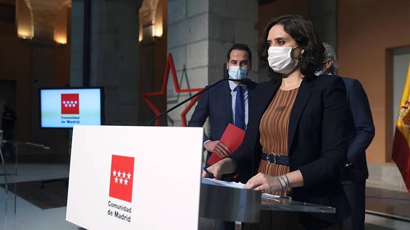 Madrid restringe la movilidad en 37 áreas con mayor incidencia de coronavirus