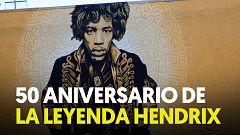 Se cumplen 50 años de la muerte de Jimi Hendrix, considerado el mejor guitarrista de la historia