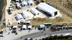 El nuevo campo de refugiados de Lesbos acoge ya a unas 7.000 personas