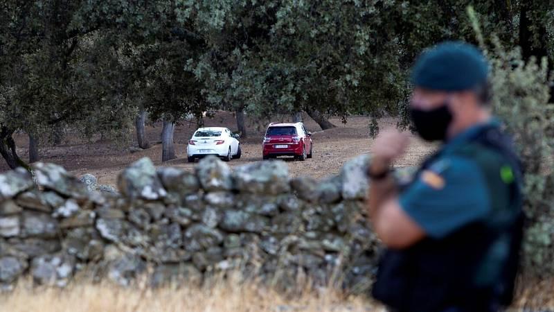 Encuentran restos óseos en la finca de Monesterio donde la Guardia Civil busca el cuerpo de Manuela Chavero