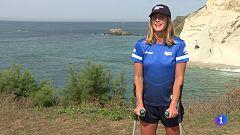Leti Canales: el mar como sala de rehabilitación