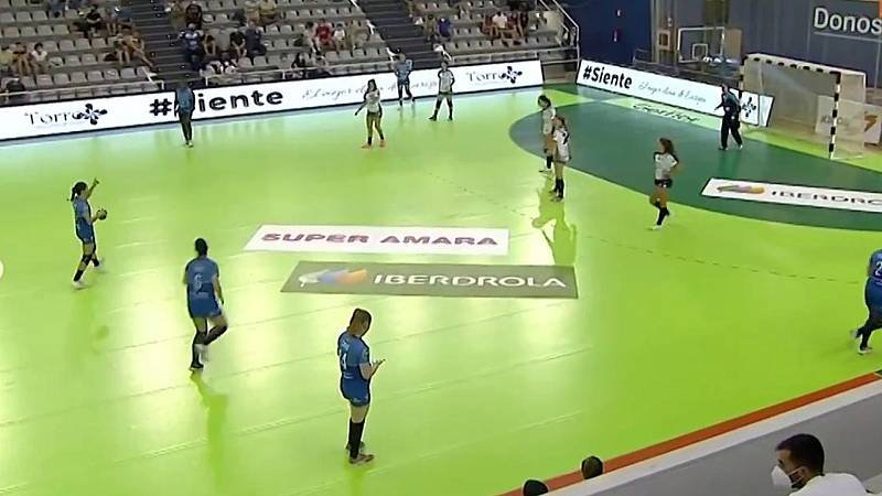 Balonmano - Liga Guerreras Iberdrola 2ª jornada: Super Amara Bera Bera - Atlético Guardés. Desde San Sebastián - ver ahora