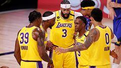 Davis guía a los Lakers ante los Nuggets y se ponen por delante en la final del Oeste