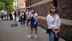 Barcelona realiza su cuarto cribaje masivo para detectar nuevos contagios de coronavirus