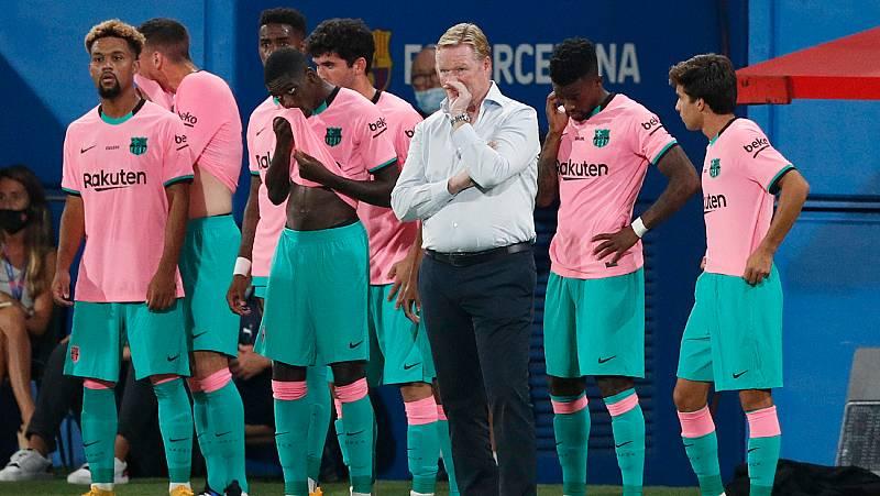 Vídeo: El Barça de Koeman juega el Gamper contra el Elche