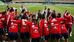 La selección femenina se enfrenta por primera vez a Moldavia