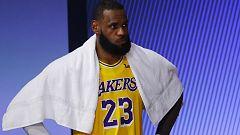 LeBron James, enfadado por no ser MVP de la temporada a pesar de la victoria de los Lakers