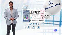 Lotería Nacional - 19/09/20