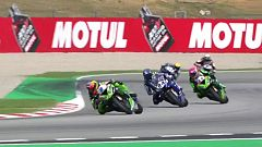 Motociclismo - Campeonato del Mundo Superbike. Prueba Cataluña. World Supersport 1ª carrera.