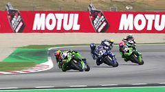 Motociclismo - Campeonato del Mundo Superbike. Prueba Cataluña. World Supersport 1ª carrera.