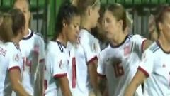 Lucía García adelanta a España (0-1)