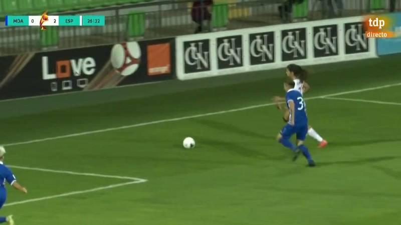 Mariona Caldentey hace el tercero (0-3)