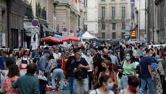 Europa comienza a registrar cifras no vistas desde hace seis meses