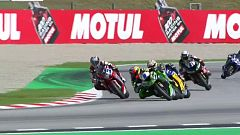 Motociclismo - Campeonato del Mundo Superbike. Prueba Cataluña. World Supersport 2ª carrera.