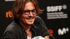 Johnny Depp presenta 'Crock of gold' y encandila en San Sebastián