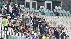 El fútbol vuelve con público en Italia