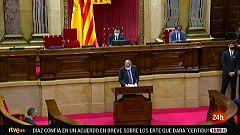 Parlamento - Otros parlamentos - Pleno en Cataluña ante la posible inhabilitación de Quim Torra - 19/09/2020