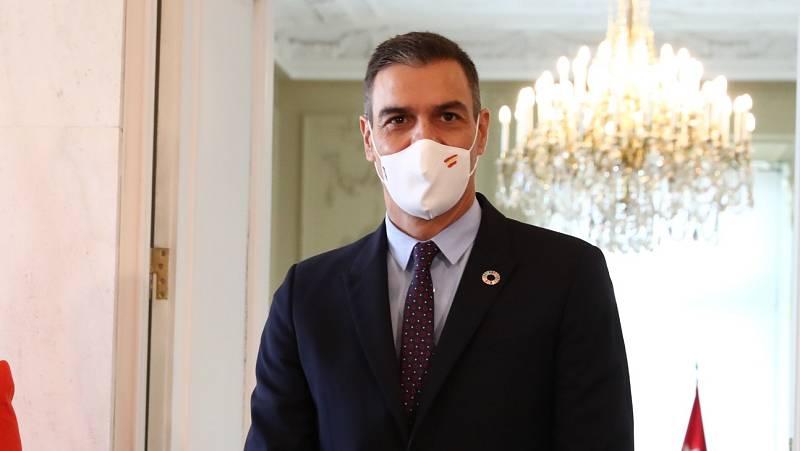 """Sánchez ofrece a Madrid """"medios de rastreo, de desinfección logísticos y sanitarios"""" para hacer frente a la pandemia"""