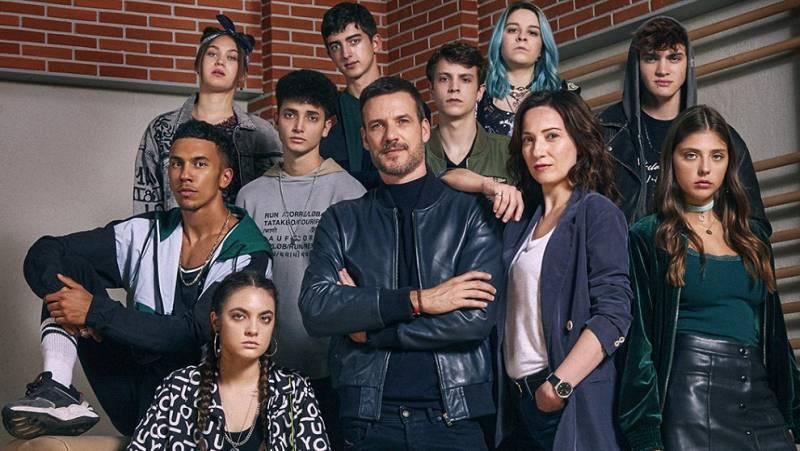 Esta noche se estena 'HIT', la nueva serie de RTVE que refleja el día a día en un instituo