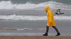 Precipitaciones que podrían ser persistentes en el Cantábrico oriental