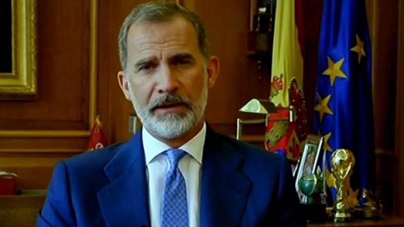 """Felipe VI pide ante la ONU unas """"naciones más únidas"""" para hacer frente a una """"crisis global inédita"""""""