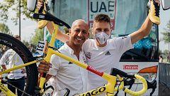 """Josean Fernández 'Matxin': """"Tocar la gloria es ganar el Tour de Francia y lo hemos conseguido"""""""