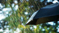 Este martes, precipitaciones tormentosas en Galicia, Pirineo catalán y Mallorca