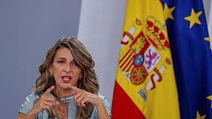 """Díaz: """"El teletrabajo nos coloca a la vanguardia de las legislaciones europeas"""""""