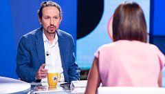 Iglesias acusa a Ayuso de segregar a la población con las restricciones frente a la COVID-19 en Madrid