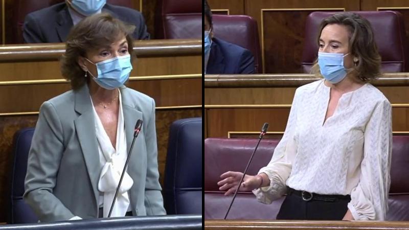 """Calvo justifica la ausencia de Sánchez del Congreso: """"Está en Bruselas defendiendo los intereses de España"""""""