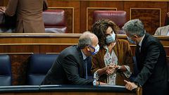 """Montero afirma que el techo de gasto estará """"consensuado"""" con los grupos cuando se apruebe"""