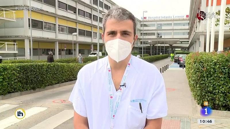 El hospital Infanta Leonor denuncia una ocupación del 54% por pacientes de covid