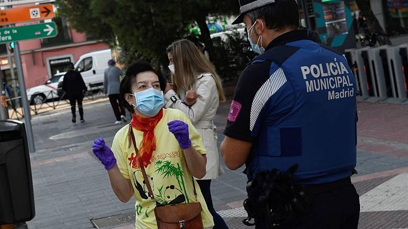 Multas saltarse el confinamiento en Madrid