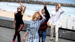 Corazón y tendencias - Ingrid García-Jonsson, Natalia Millán y Fernando Tejero bailan en el Festival de San Sebastián