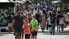 Las comunidades continúan aplicando restricciones para frenar los contagios