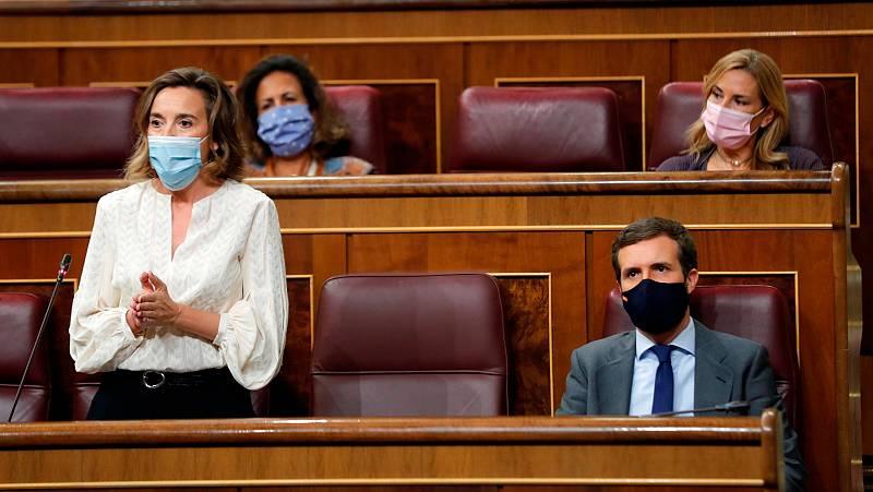 Rifirrafe entre Gobierno y oposición por el viaje de Sánchez a Bruselas