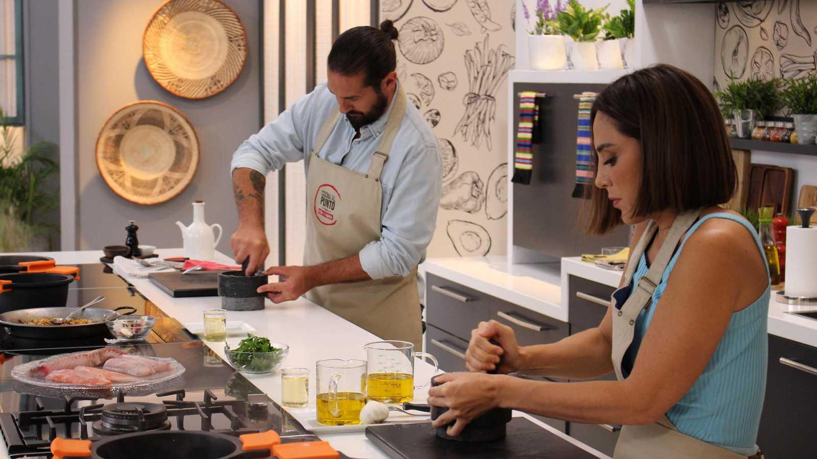 Cocina al punto con Peña y Tamara - Pescado de roca - ver ahora