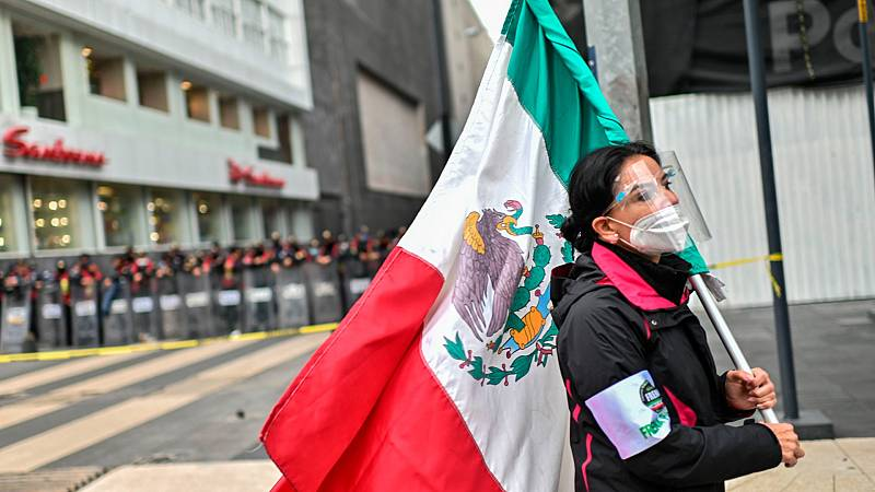 La pandemia del coronavirus comienza a remitir en México