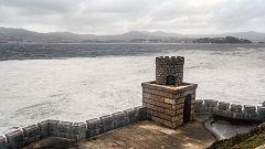 Precipitaciones en el sur de Galicia y el entorno de los Picos de Europa