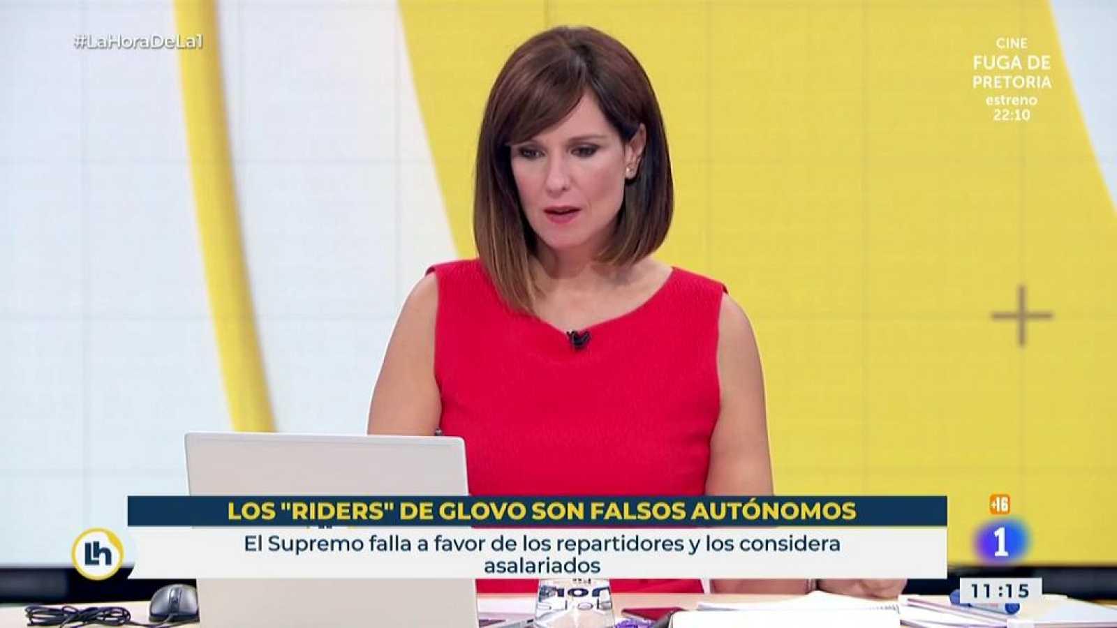 El Supremo declara que los riders son asalariados