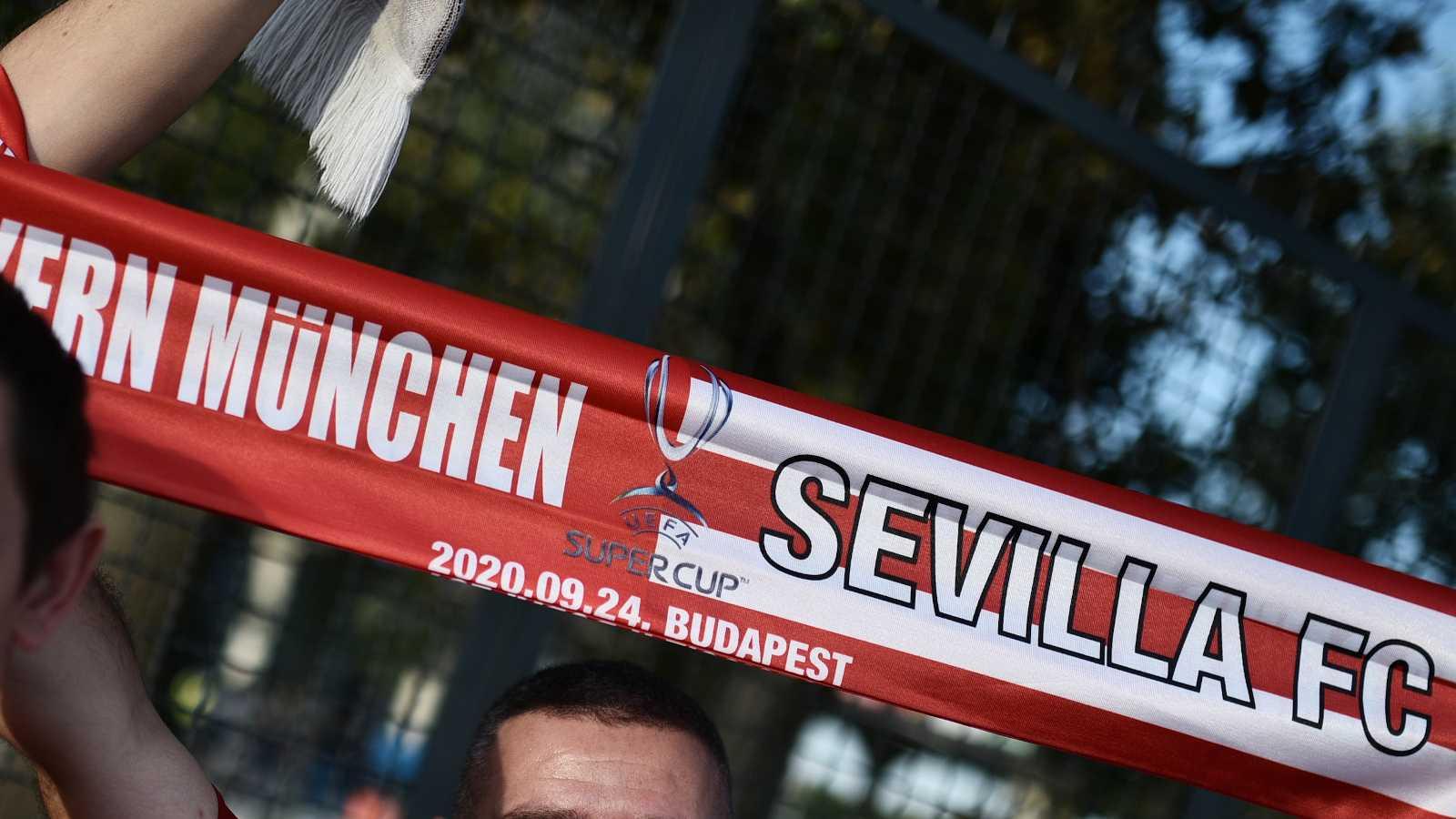La afición sevillista confía en su equipo para levantar la Supercopa