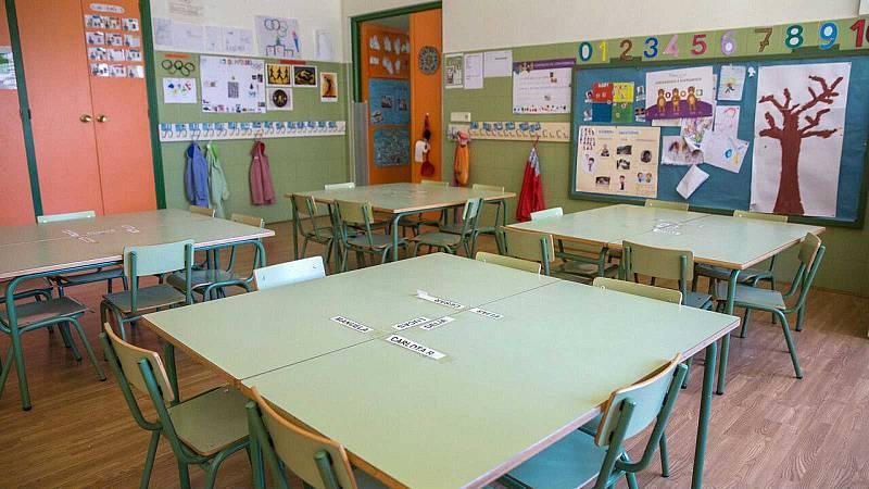 Más de 2.800 aulas de toda España han tenido que cerrar desde el inicio del curso por la COVID-19