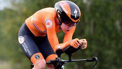 Van Der Breggen marca el mejor tiempo de la crono de Imola 40:20.14