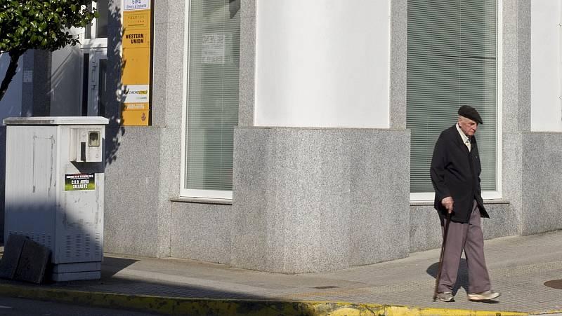 """El mundo rural denuncia el cierre de sucursales bancarias: """"Queremos denunciar la avaricia de los bancos"""""""