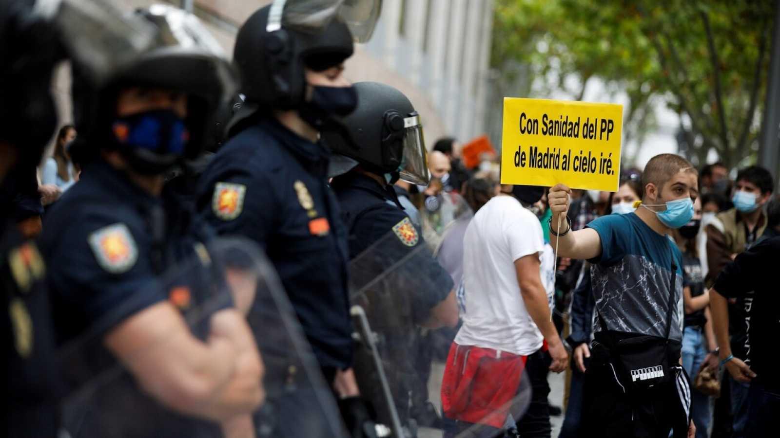 """Isa Serra (Podemos): """"Protestamos por el injusto e ineficaz confinamiento en las zonas más humildes"""""""