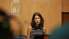 """Isa Serra, portavoz de Podemos en la Asamblea de Madrid: """"Desconozco en qué van a consistir las nuevas medidas restrictivas de Madrid, pero la situación es insostenible"""""""