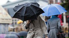Lluvias fuertes en el Cantábrico y Pirineos, y descenso térmico en el noreste