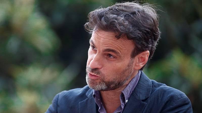 """Jaume Asens: """"Sería fantástico que no viniese nunca más el rey a Cataluña"""""""