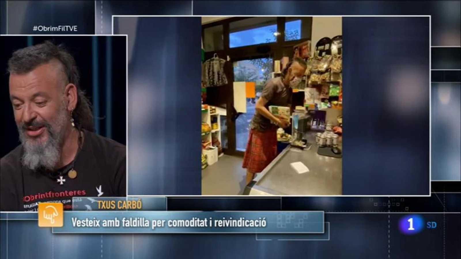 Obrim Fil | Txus Carbó, home militant de les faldilles