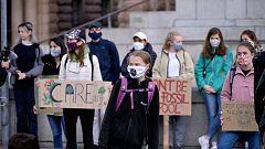 Juventud por el Clima vuelve a la calle, con Greta Thunberg a la cabeza